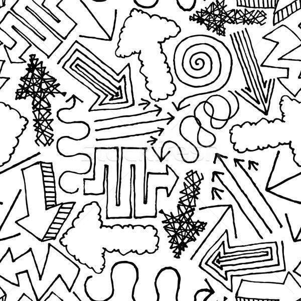 Vetor fundos desenho desenho animado Foto stock © curvabezier