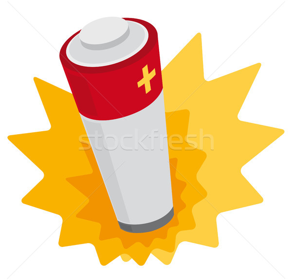 Battery power Stock photo © curvabezier