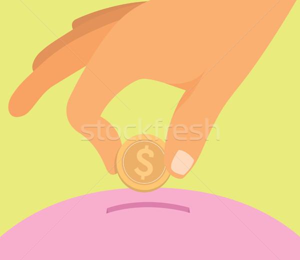 お金 ビジネス ドル コイン 考え ストックフォト © curvabezier