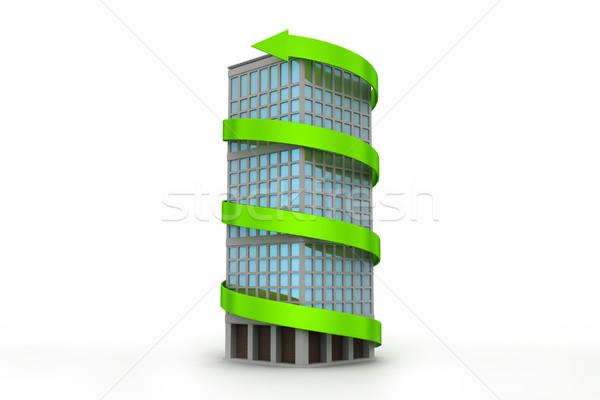 недвижимости роста здании строительство дизайна путешествия Сток-фото © cuteimage