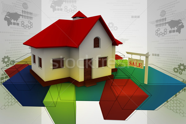 Real estate concept Stock photo © cuteimage