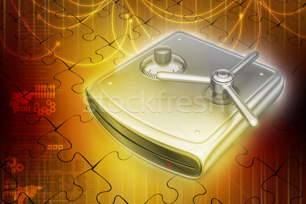 Foto stock: Proteger · tecnologia · móvel · trancar · informação