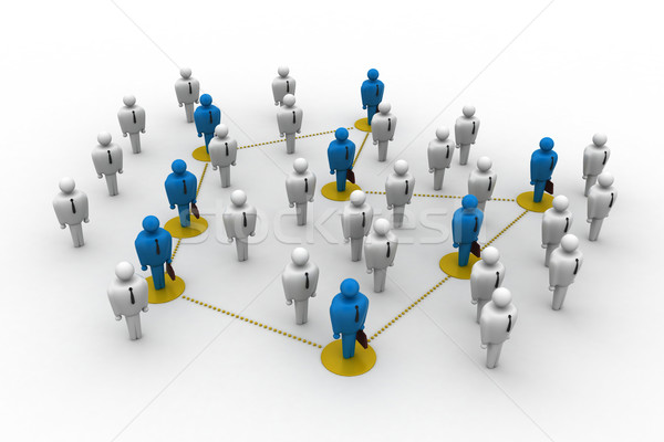 Networking people Stock photo © cuteimage