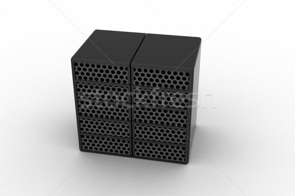 Számítógép adat centrum internet technológia hálózat Stock fotó © cuteimage