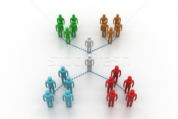 Network with people Stock photo © cuteimage