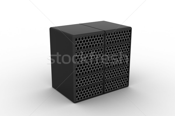 Computer data centre Stock photo © cuteimage