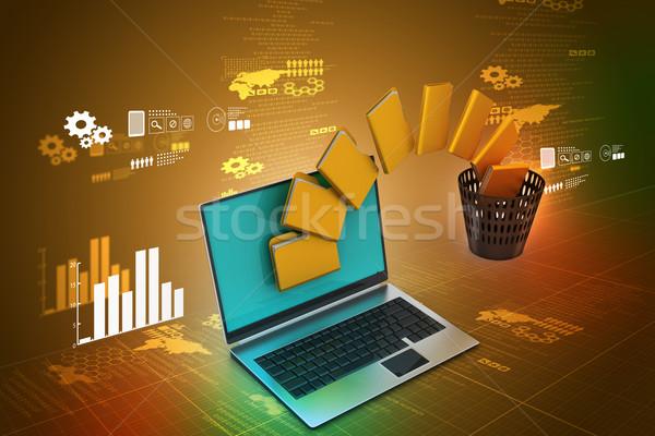File folder transfer Stock photo © cuteimage