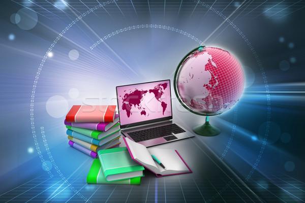 教育 ビジネス オフィス 図書 世界中 学校 ストックフォト © cuteimage