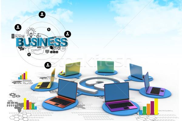 Computer network  Stock photo © cuteimage