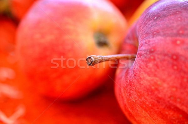 Red apples Stock photo © cwzahner