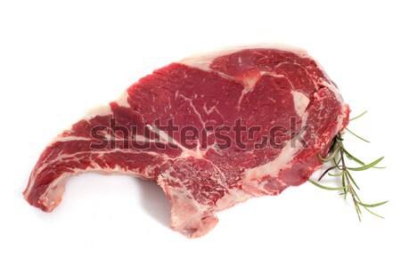 ストックフォト: カモ · 脚 · 白 · 食品 · 調理