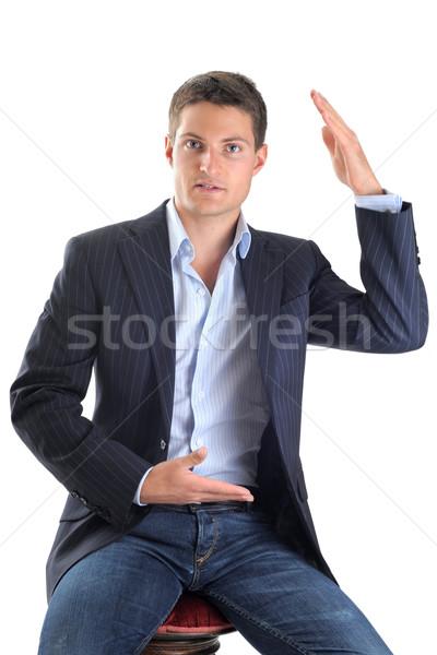 business man Stock photo © cynoclub