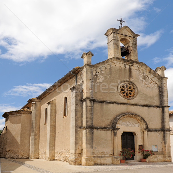 church of Lecques Stock photo © cynoclub