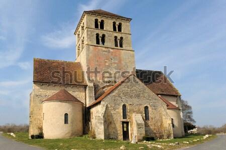 Sainte Madeleine church, Beziers Stock photo © cynoclub