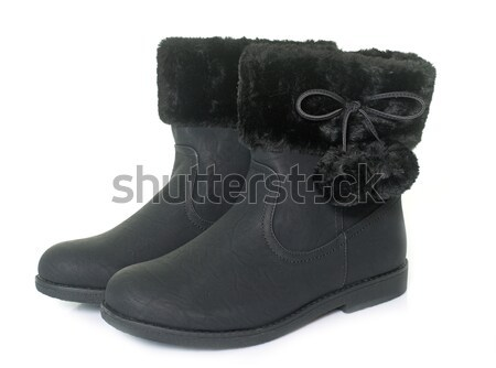 lined boots in studio Stock photo © cynoclub