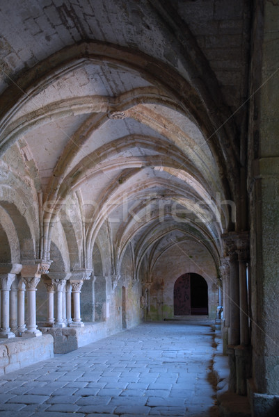 cloister in abbey Stock photo © cynoclub