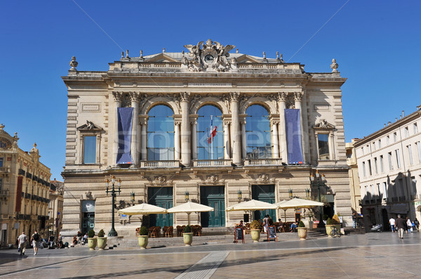 Opera yer Bina mavi seyahat Stok fotoğraf © cynoclub
