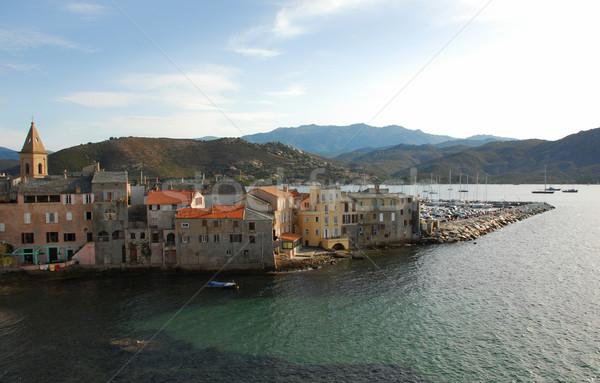 St Florent, Corsica Stock photo © cynoclub