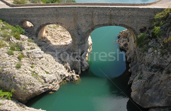 Pont du diable, Herault Stock photo © cynoclub