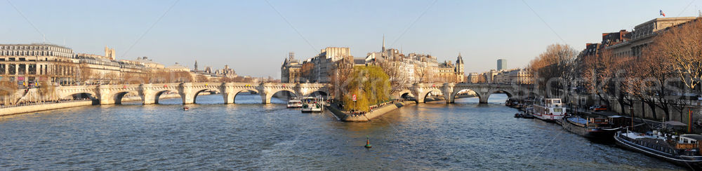Ile de la cite Stock photo © cynoclub