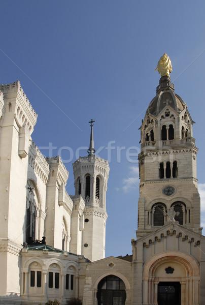 Basilique de Fourviere Stock photo © cynoclub