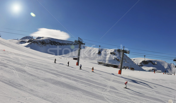ski slope Stock photo © cynoclub
