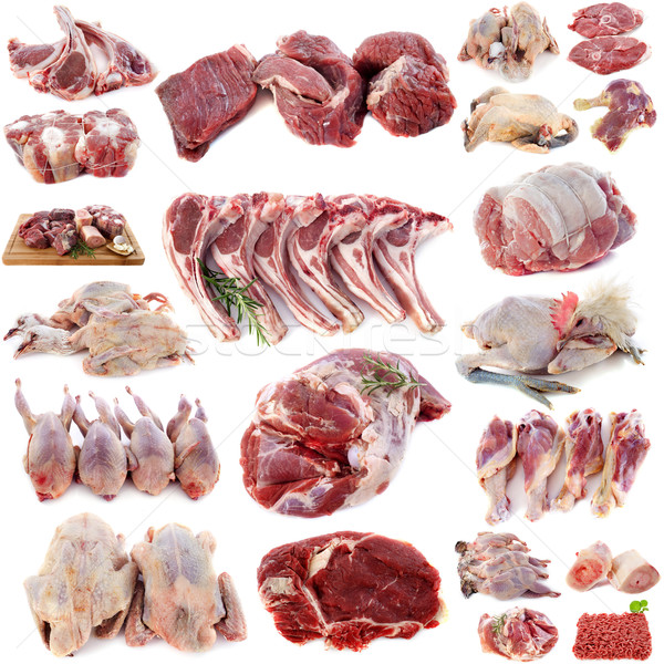 group of meats Stock photo © cynoclub