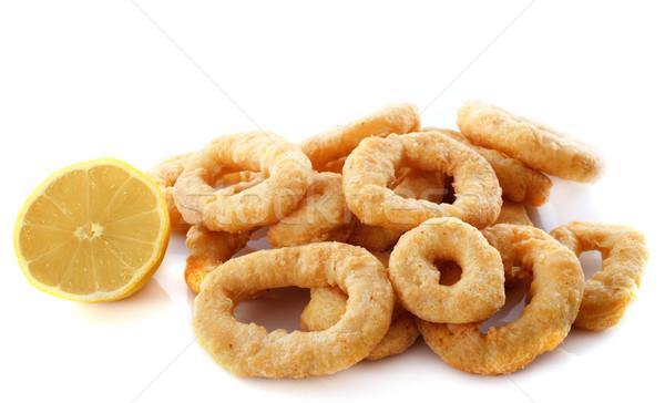 fried calamari  Stock photo © cynoclub