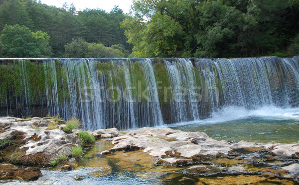 waterfall in Cevennes Stock photo © cynoclub