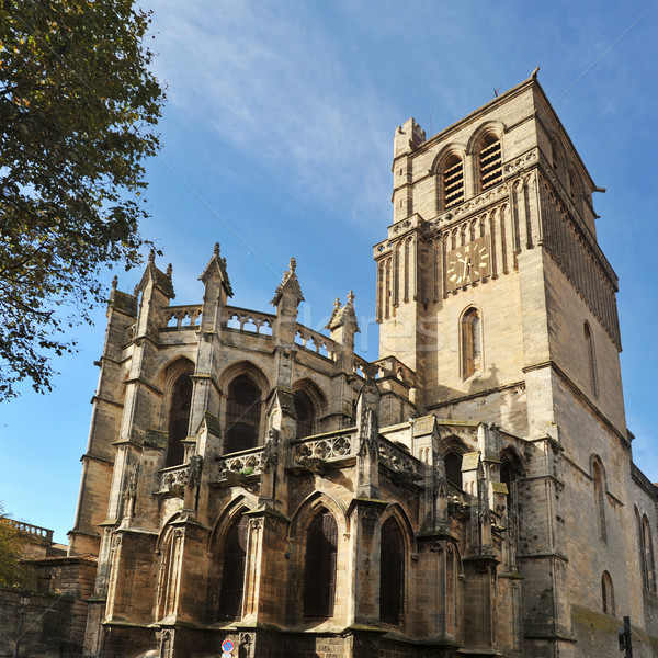 Beziers cathedral Stock photo © cynoclub