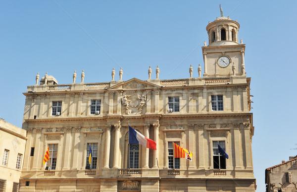Hotel de ville, Arles Stock photo © cynoclub