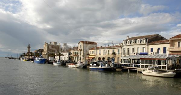 Harbor of Grau du Roy Stock photo © cynoclub