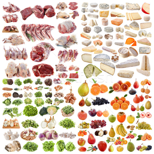 large group of food Stock photo © cynoclub