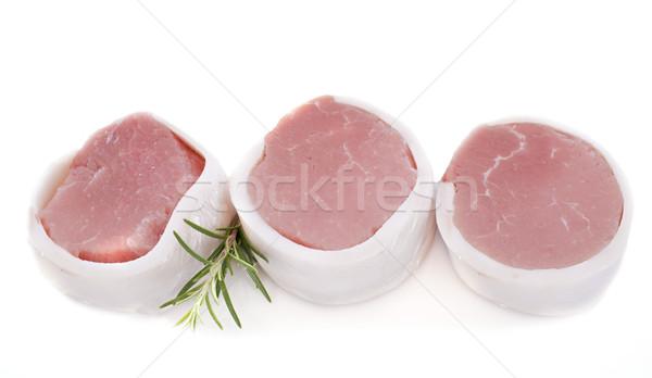 Borjúhús hús stúdió három gurmé nyers Stock fotó © cynoclub