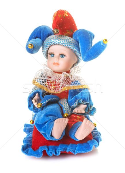 porcelain doll in studio Stock photo © cynoclub