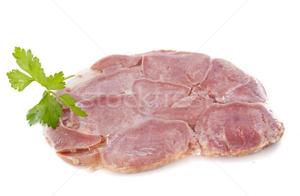 雄牛 舌 スタジオ 食事 牛肉 グルメ ストックフォト © cynoclub
