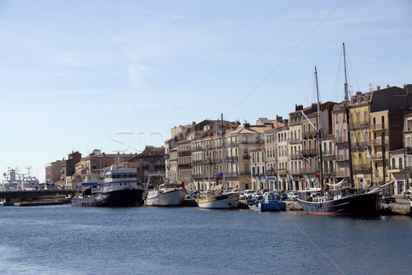 harbor of Sete (Languedoc Roussillon) Stock photo © cynoclub