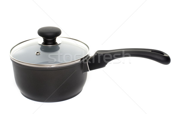 saucepan in studio Stock photo © cynoclub