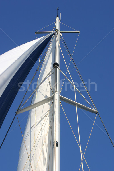 sailing mast Stock photo © cynoclub