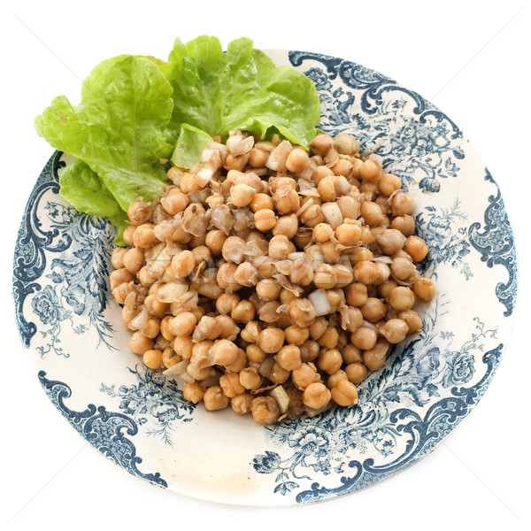 salad of Chickpea Stock photo © cynoclub
