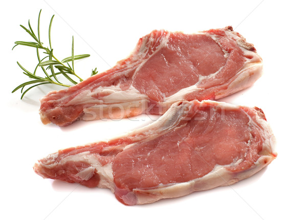 veal meat chop Stock photo © cynoclub