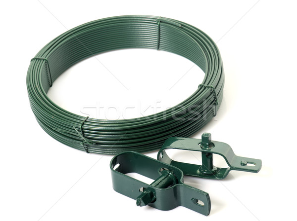 green wire for garden Stock photo © cynoclub
