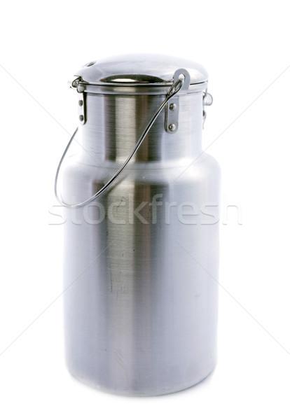 metal milk churn Stock photo © cynoclub