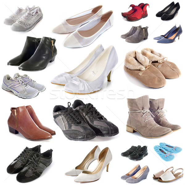 group of shoes Stock photo © cynoclub