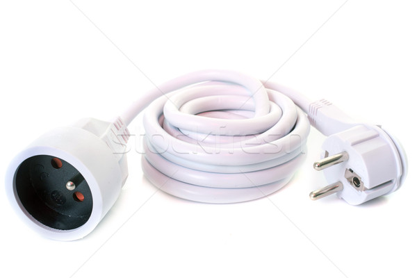 extension cable in studio Stock photo © cynoclub