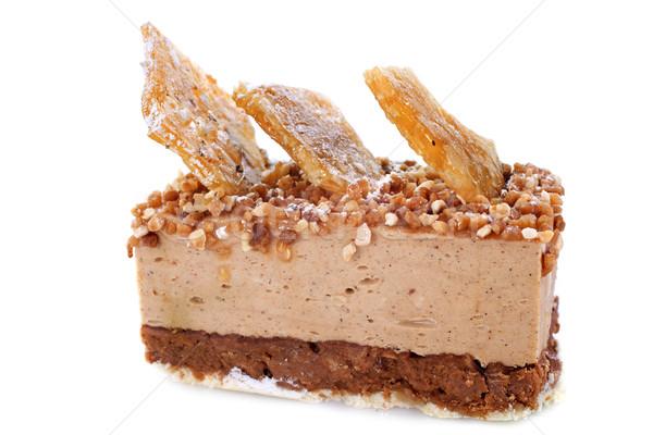 praline cake Stock photo © cynoclub