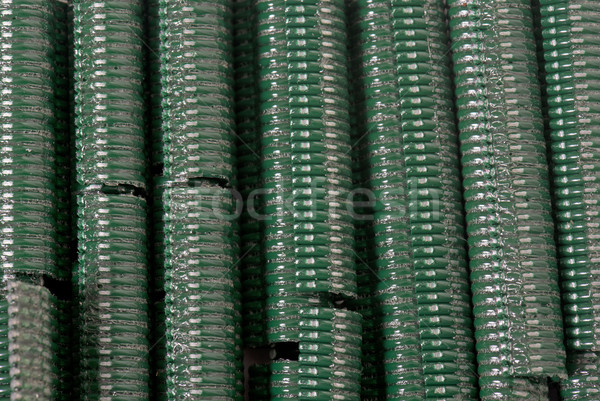 staples for wire fence Stock photo © cynoclub
