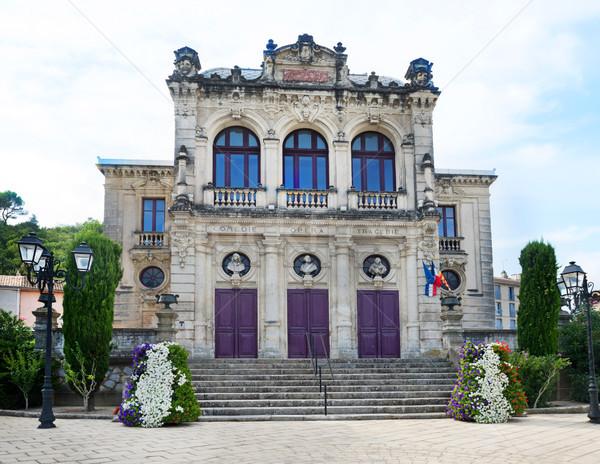 оранжевый муниципальный театра Франция фотография южный Сток-фото © cynoclub