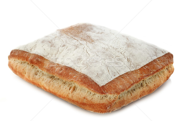 Pão pão branco estúdio Foto stock © cynoclub