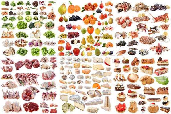 group of food Stock photo © cynoclub